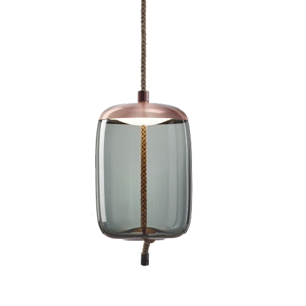 Brokis Knot Blue Glass Pendant Lamp B One Two Modern