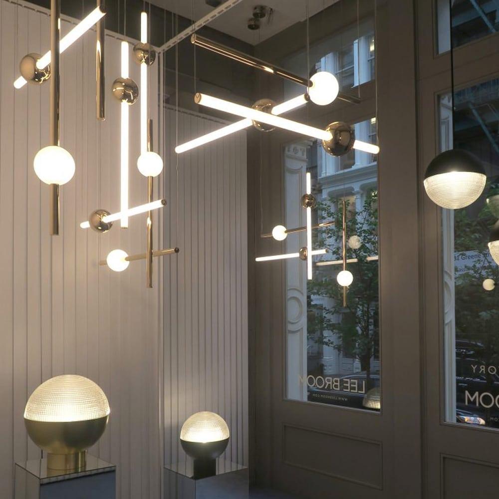 Lee Broom Orion Tube Pendant Lighting One Two Modern