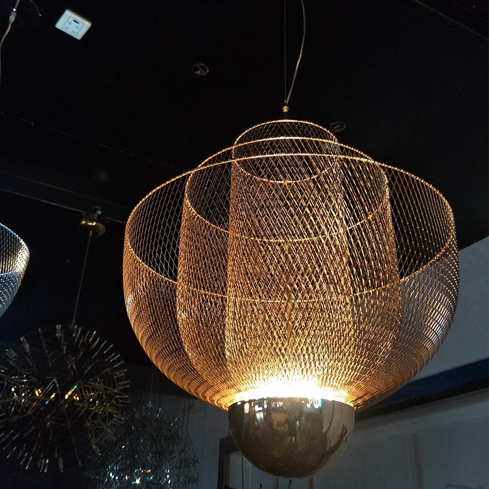 Moooi Meshmatics New Design Chandelier Gold One Two Modern Lighting Factory
